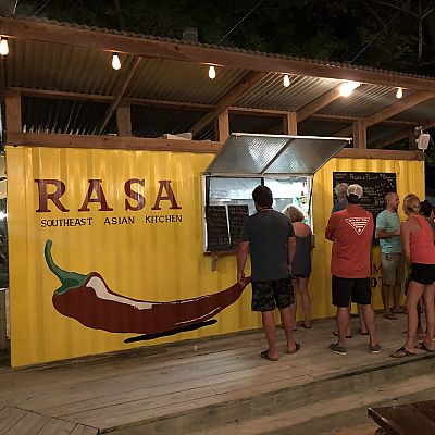 San Pedro, Belize Restaurant for sale: The Truck Stop is Ambergris Caye's most popular family entertainment destination. Featuring three food trucks, an ice cream truck, and a bar